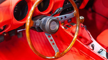 1974 Datsun 260z  Grey with Polished wooden Steering wheel