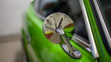 Chrome door mirror on this Green Datsun 240z for sale