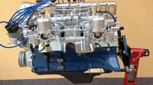 Grey Datsun 260z engine block restoration
