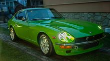 Green Datsun 240z for Sale