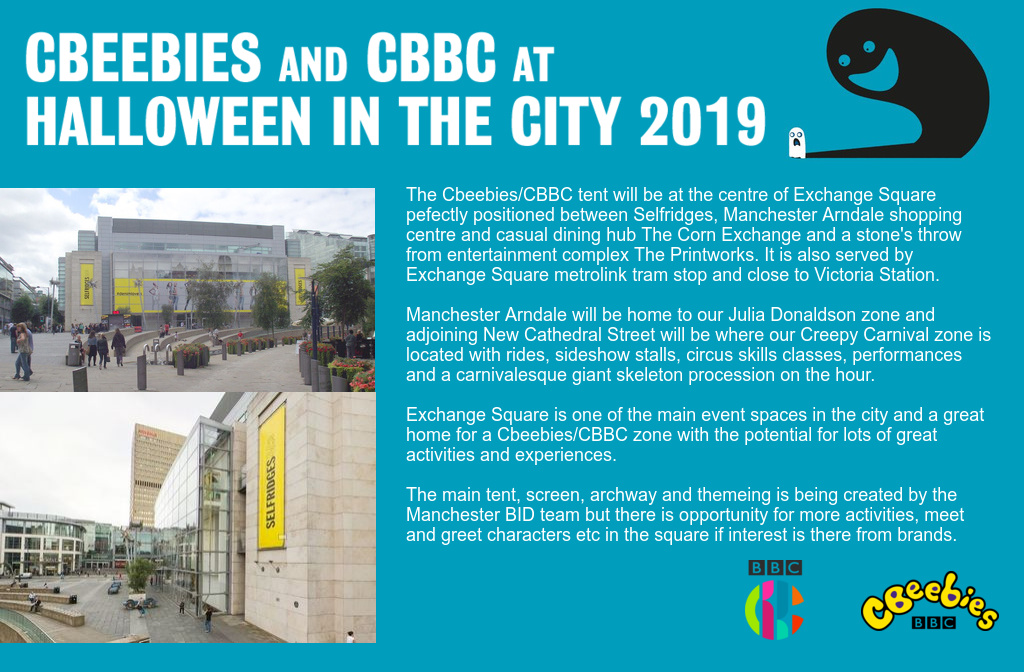 Halloween in the City 2019 CBBC Info Pack