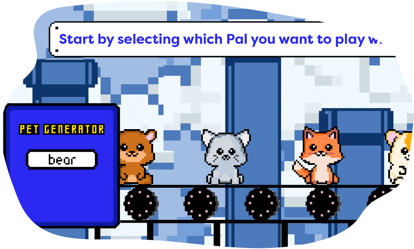 The One With The Pixel Pets